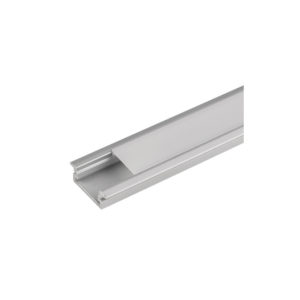 ALUMINIUM PROFILE FOR LED STRIP FOR BUILDING-IN, SHALLOW