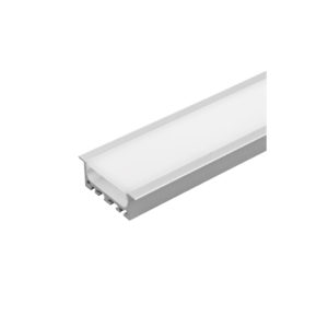 ALUMINIUM PROFILE FOR LED STRIP FOR BUILDING-IN, WIDE, SHALLOW
