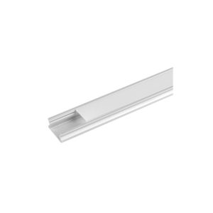 ALUMINIUM PROFILE FOR LED STRIP FOR SURFACE MOUNTING, SHALLOW