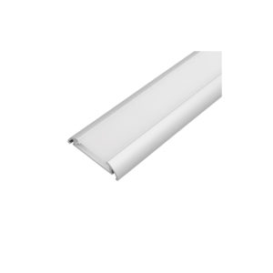 ALUMINIUM PROFILE FOR LED STRIP FOR SURFACE MOUNTING, WIDE