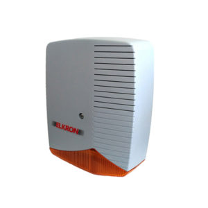 Self Powered Outdoor Siren with Light Indication